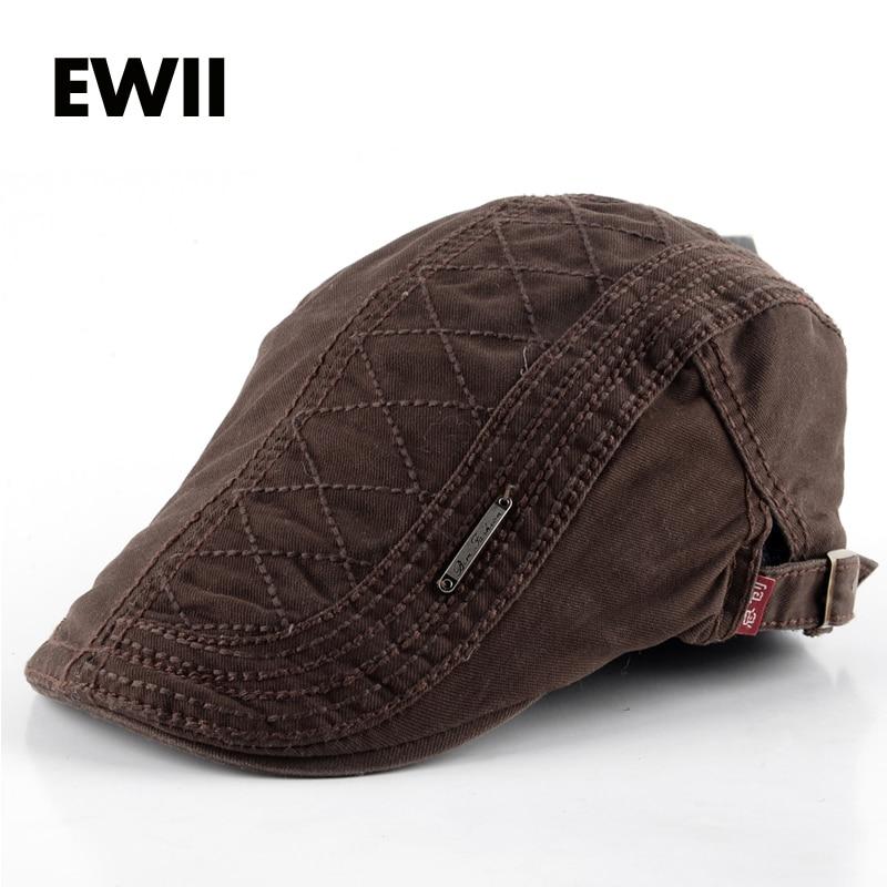 2017 new style berets women hats for men flat caps unisex casual beret hat man cap woman adjustable bone masculino casquette
