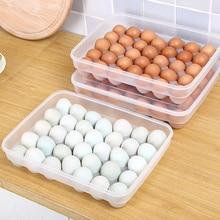 Kunststoff ente ei aufbewahrungsbox Japanischen stil große box küche schärfer kühlschrank eierkarton setzen ei regal