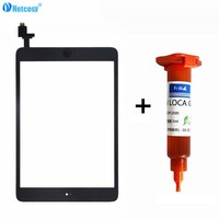 Netcosy For Ipad Mini 1 2 Touch Glass Screen Digitizer Home Button Assembly Replecement For Ipad