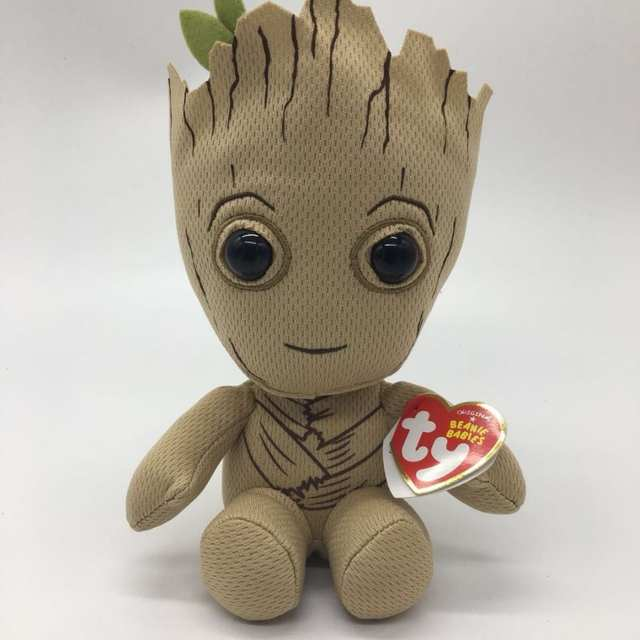 placeholder TY BEANIE 1PC 15CM SPIDERMAN IRONMAN HULK captain American  black panther groot Plush Toys Stuffed animals a3b924caad83