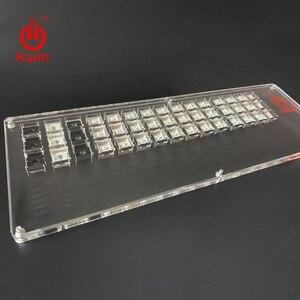 Image 2 - Kailh ボックス 45 キー機械式キーボードスイッチテスター半透明クリア Kailh MX サンプラー用キーキャップキャップテストツール