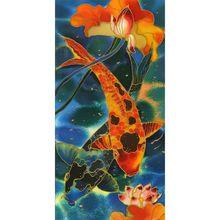 Fish DIY 5D Full Drill Diamond Painting Embroidery Cross Stitch Kit Rhinestone Mosaic Home Decor Craft
