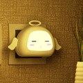 0.2 W Quarto Luz de Cabeceira Lâmpada de Indução do Sono Bom Romance Anjo Night Light Worldwide Loja
