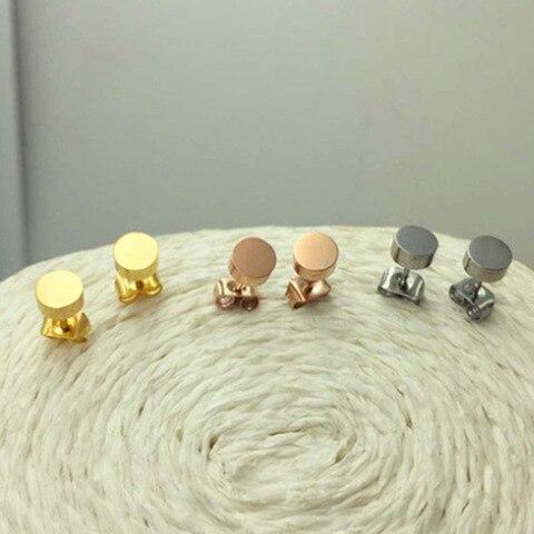 Модные ювелирные украшения мини золотые серьги в виде шапки