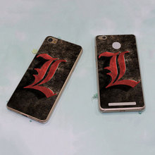 Death Note style clear phone shell Case for Xiaomi Redmi Note 3 Note4 3 3s 4 4A Xiaomi Mi 4 5 5s