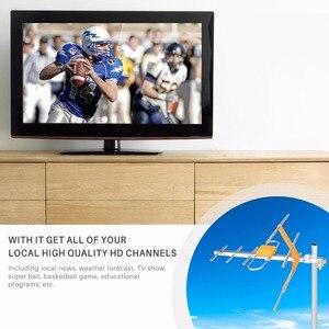 Image 2 - HD דיגיטלי חיצוני טלוויזיה אנטנה גבוהה רווח HDTV אנטנה עבור DVBT2 HDTV ISDBT גבוהה רווח חזק אות חיצוני טלוויזיה אנטנה