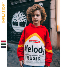 INFLATION KIDS 2019 Autumn Hoodies  Boys And Girls Matching-Colors Thin Adults Streetwear Kids Clothing SW9618