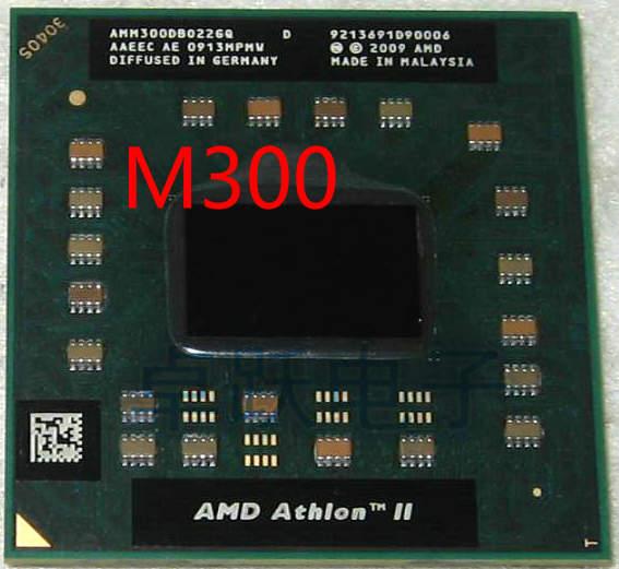 AMD Athlon II Dual-Core Mobile M300 2.0 GHz Dual-Core Dual-Thread CPU Processor AMM300DBO22GQ Socket S1