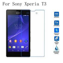 Tempered Glass For Sony Xperia T3 T 3 Arc Edge 0.3mm 2.5D Round Border Explosion-proof Screen Protector for Sony Xperia T3 dulisimai matte frosted screen protector for sony xperia z1s transparent 3 pcs