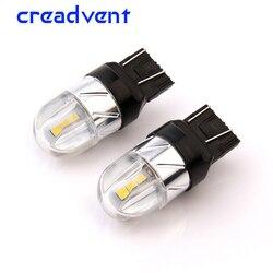 2x Led T20 7443 W21/5 w 3030 6SMD 4 W phare Led pour voiture clignotant frein ampoule arrière rétro lampe auto COB 12 V