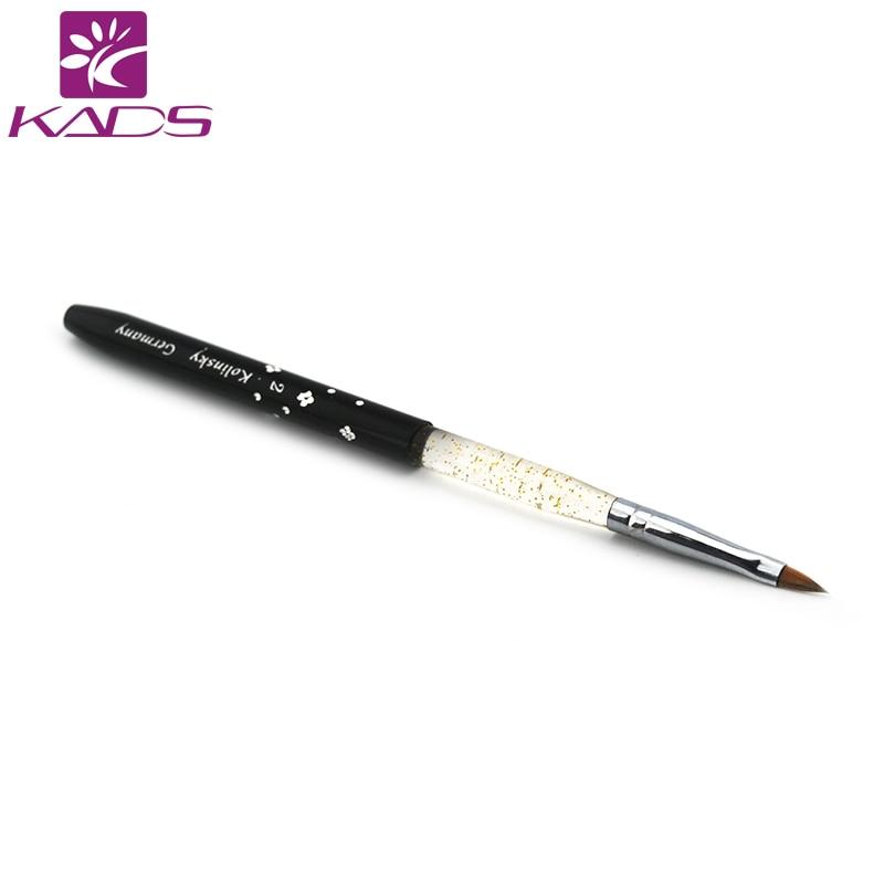 KADS Size 2# Black 40pcs/set Nail Brush Painting Art Nail For DIY Nail Art Design Amazing Painting Brush Drawing Tools цена и фото
