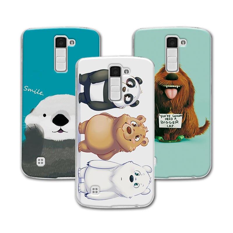 Новинка! Медведь коробка чехол для LG K10 случае K10 M2 случае Coque, принципиально Мягкие силиконовые для LG K10 Lte K430DS K410 M2 5,3 Обложка