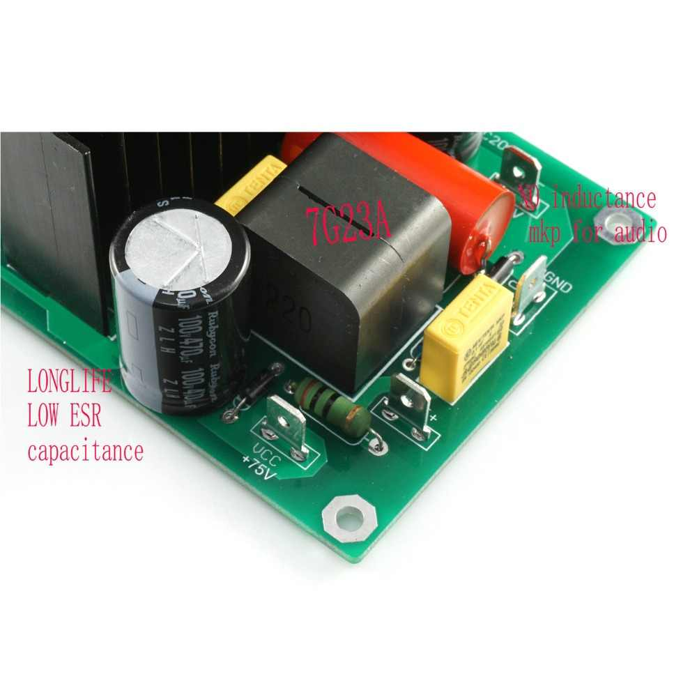 1 шт. L30D 300-850 Вт IRS2092S MOSFET IRFB4227 цифровая мощность готовая Плата усилителя по LJM