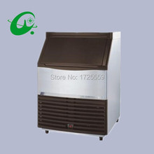 Stainless steel daily output 23kg vertical ice making maker machine cube ice maker with 15kg storage
