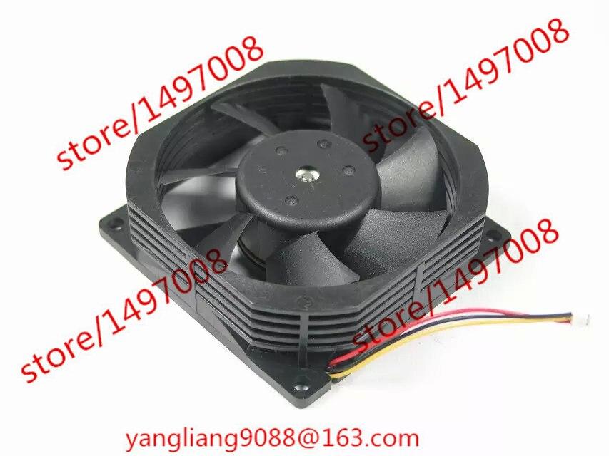 FBL08A12H, 3G11JT1 DC 12V 0.25A  3-Pin connector 70mm 80x80x25mm Server Square  fan free shipping for delta afc0612db 9j10r dc 12v 0 45a 60x60x15mm 60mm 3 wire 3 pin connector server square fan