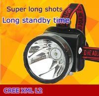 Super heldere oplaadbare 45 W watt LED L2 hoofd licht camping led-koplampen voor jacht Outdoor exploratie