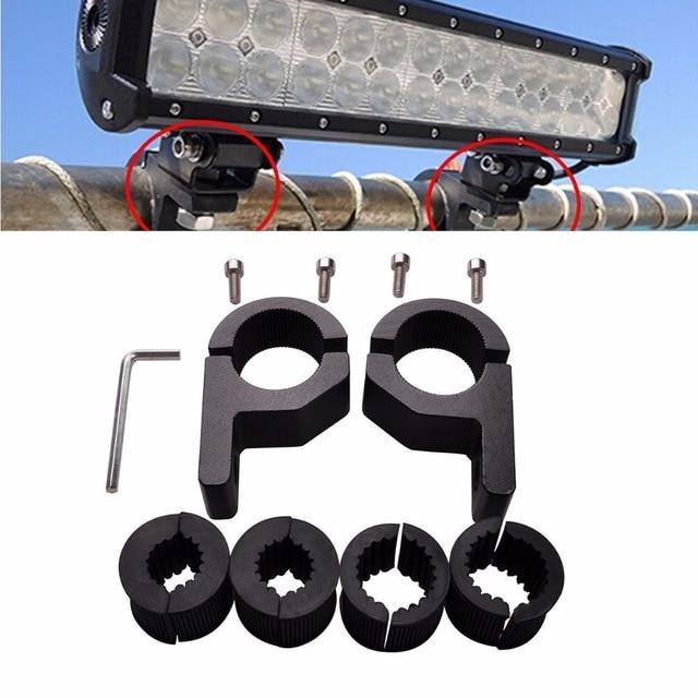 Triclicks Schwarz Aluminium Montagewinkel Led lichtleiste Halterung ...