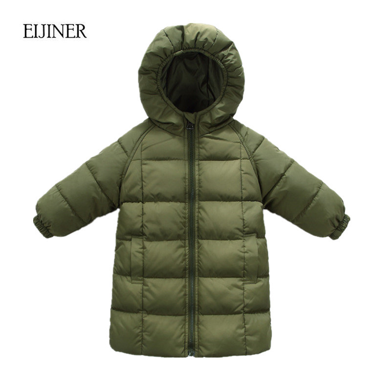 White Duck Down Winter jacket for girls clothes 2017 Autumn Hooded Kids Coat Children clothing girl Parkas enfant Jackets Coats winter down jacket for girls kids clothes children thicken coats duck down jackets girls hooded bow snowsuits natural fur coat