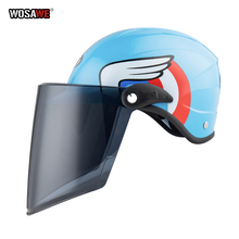 Motorcycle Helmet for Kids Children Cycling Full Face Bike Girls Boys Safety Protector Motorbike