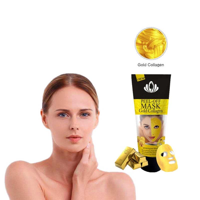 Nowy styl zaskórnika Remover nos maski porów Strip złota maseczka obierania trądzik porów skurcz głębokie oczyszczanie pielęgnacji skóry korea