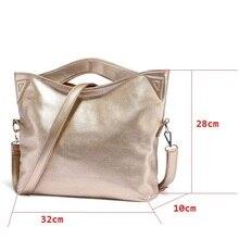 Casual Women Crossbody Leather Big Bag