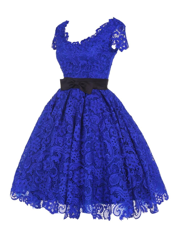 Lujo Vestidos De Dama De Luz Azul Galería - Vestido de Novia Para ...