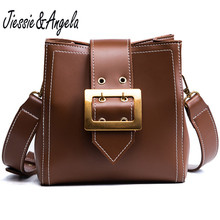 Jiessie & Angela vintage crossbody bags for women handbags designer shoulder fashion messenger bag bolosa