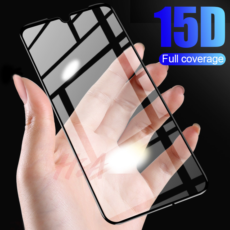 H&A 15D Full Cover Protective Glass For Huawei P30 P20 Lite Pro Tempered Glass For Huawei P10 P30 Lite P10 Plus Screen Protector