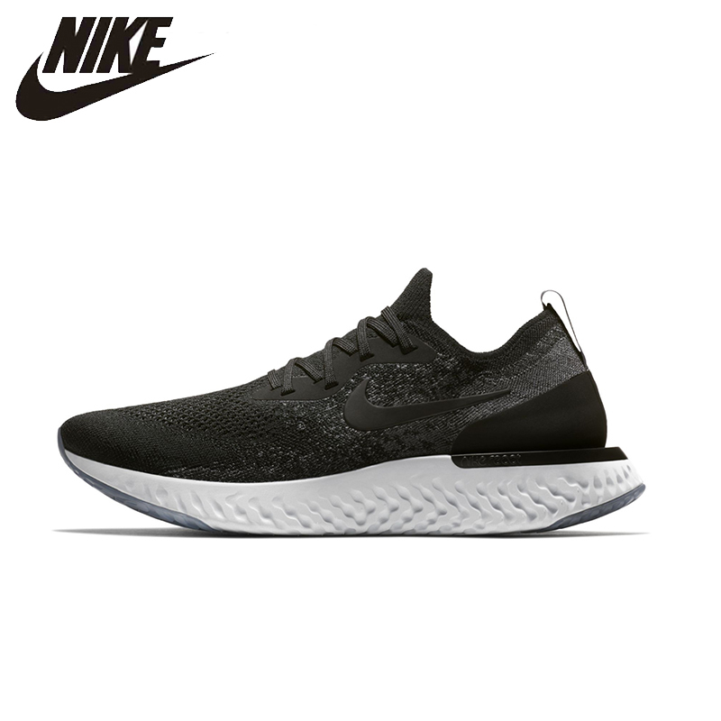 NIKE Epic React Flyknit Original Running Shoes Limited Offer Footwear Super Light Support Sports Sneakers For Men Shoes