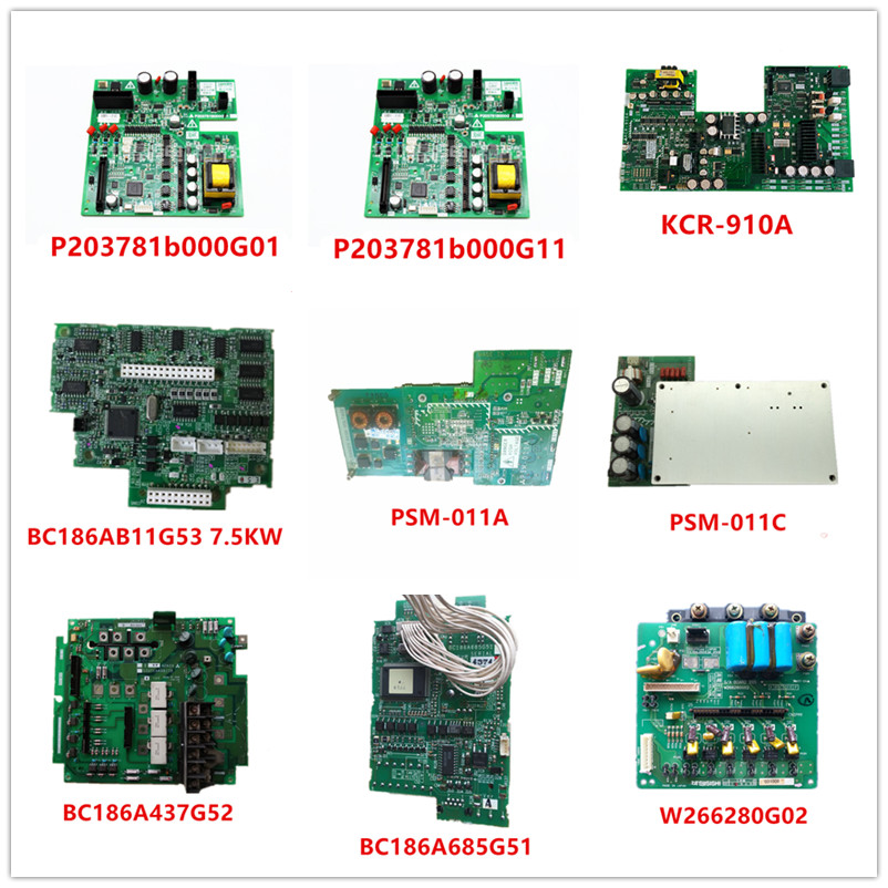 P203781b000G01| P203781b000G11| KCR-910A| BC186AB11G53| PSM-011A| PSM-011C| BC186A437G52| BC186A685G51| W266280G02 Used Working