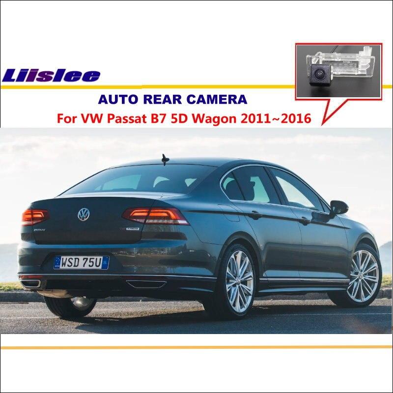 94e465770 Liislee عكس الكاميرا ل volkswagen vw passat b7 5d wagon 2011 ~ 2016 لوحة  ترخيص ضوء كاميرا/للرؤية الليلية/سيارة الكاميرا الخلفية
