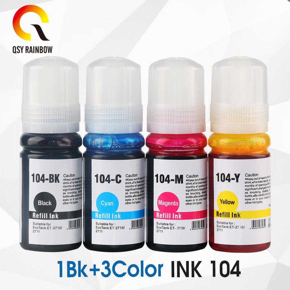 003 104 504 544 Ciss Dye Inkt Refill Kits Voor Epson L4150 L4160 L6161 L3110 L3150 Et-2710 Et-2711 Et2710 Eco Tank Inkjet Printer
