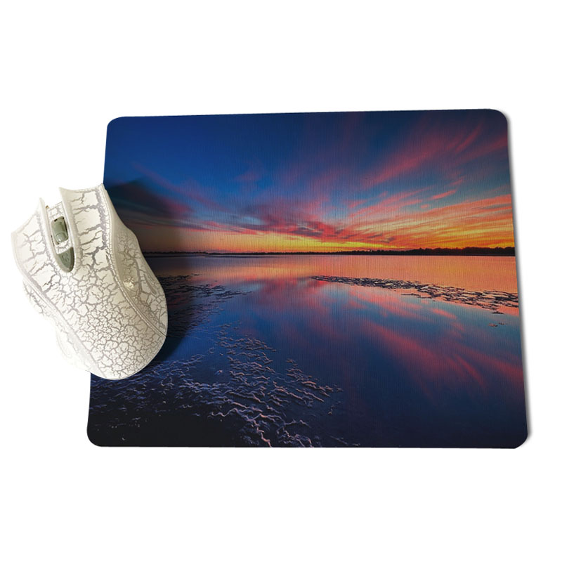 Babaite My Favorite Beautiful Lake mouse pad gamer play mats Size for 18x22cm 25x29cm Rubber Mousemats