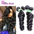 Перуанский Свободная Волна Девственные Волосы 8А Класс Virgin Необработанные Человеческих Волос Перуанский Weave Волос Девственницы Перуанский Свободная Волна 3 Пучки