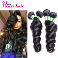 Peruvian Loose Wave Virgin Hair 8A Grade Virgin Unprocessed Human Hair Peruvian Virgin Hair Weave Peruvian Loose Wave 3 Bundles