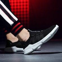 65a00726c 2019 Homens Das Sapatilhas sapatos Masculinos Sapatos Respirável Adulto  Preto Vermelho Branco de Alta Qualidade Confortáveis