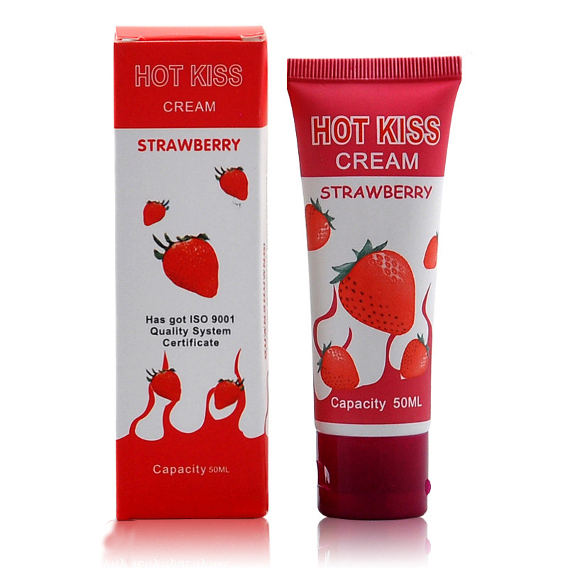 Sex-Lubricant Anal-Gel Vaginal Adults Strawberry/grape Water-Based And