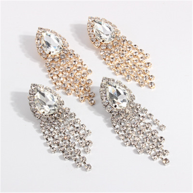 BK BRAND ALL IN ONE FASHIONABLE EARRINGS SEXY AND FASHIONABLE LOVE CLAW CHAIN FLOW IN ONE EARRINGS in Drop Earrings from Jewelry Accessories