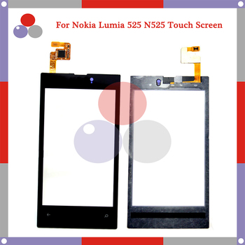 10pcs/lot High Quality For Nokia Microsoft Lumia 525 N525 Touch Screen Panel Sensor Digitizer Outer Glass Lens