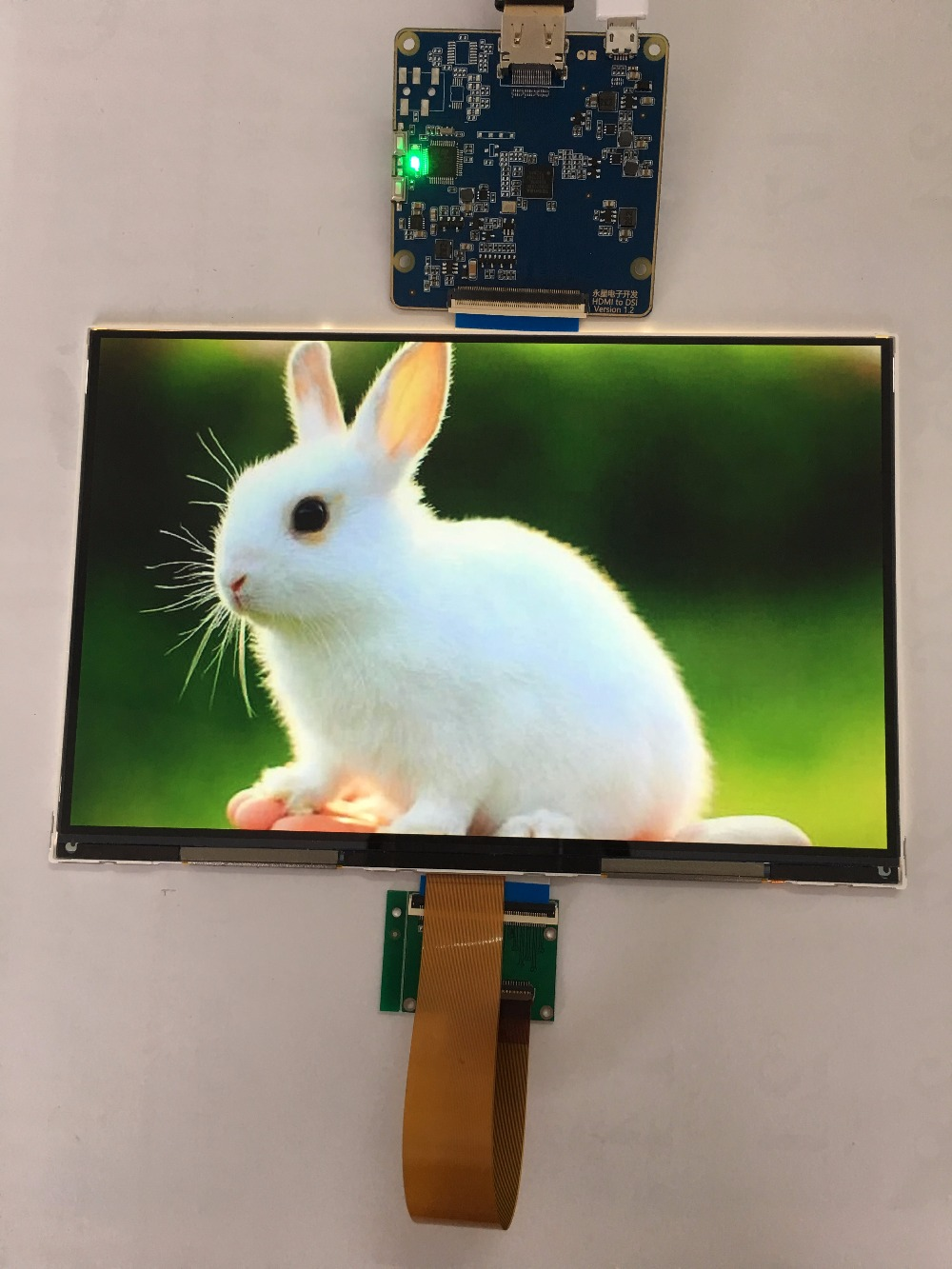 8 9 inch 2560 1600 2k IPS LCD module display monitor with HDMI MIPI driver board