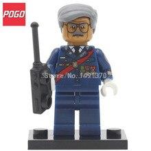 POGO Commissioner James Gordon DC Super Hero Batman Block  Building Model Set Single Sale PG118 Baby Bricks Toys Gifts