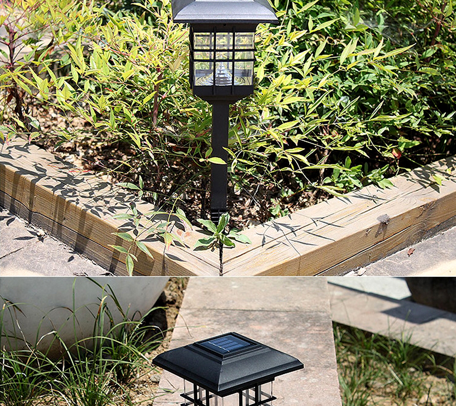 Cheap solar powered lamp