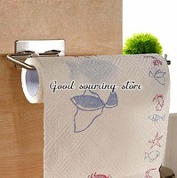 stainless steel lengthen kitchen paper holder