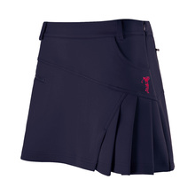 Brand  Newest Polo Golf Skirt Woman Pantskirt Sportswear Lady Pleated Skirt Lining Safety Zipper Culottes Wrinkle tennis Shorts