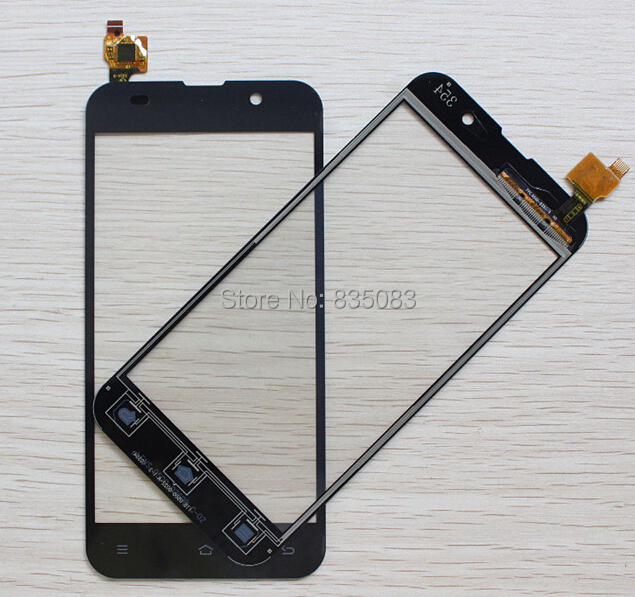 100% NUEVA Prueba de ZOPO ZP980 C2 C3 Pantalla Táctil Capacitiva del panel de Cristal Digitalizador Lente Asamblea Reemplazo Del Envío Gratis Negro