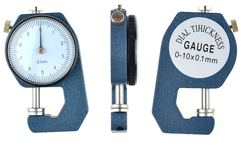 Thickness Gauge Flat Tip 0 10mm 0 1mm For Plates Or Leather font b Caliper b