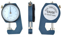 Sale Thickness Gauge Flat Tip 0-10mm/0.1mm For Plates Or Leather Caliper Gauge Measuring Tools