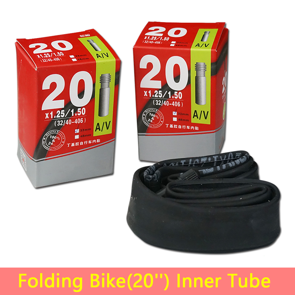 14 16 20 Inch Folding Bike Bicycle Inner Tube Tires For 14 -6843