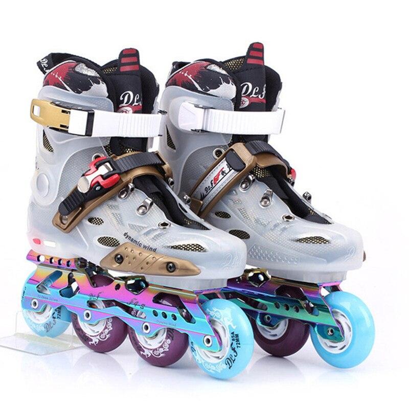 Patins à roues alignées pour adultes patins à roulettes Slalom professionnels patins à roulettes glisse libre bon comme SEBA Patines En Linea 85A roues IA106