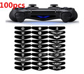 New Removable PS4 controller decal Custom Led Light Bar Cover Vinyl Decal Sticker for PlayStation 4 PS4 Controller 100PCS/LOT